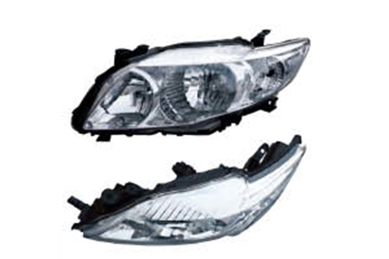 Toyota Corolla 2008 Head Lamp (middle east type)